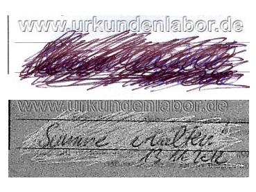 Schriftgutachten Schriftsachverständiger Nikolay Nikolay Urkundenlabor graphologisches Gutachten Schriftvergleich Mannheim